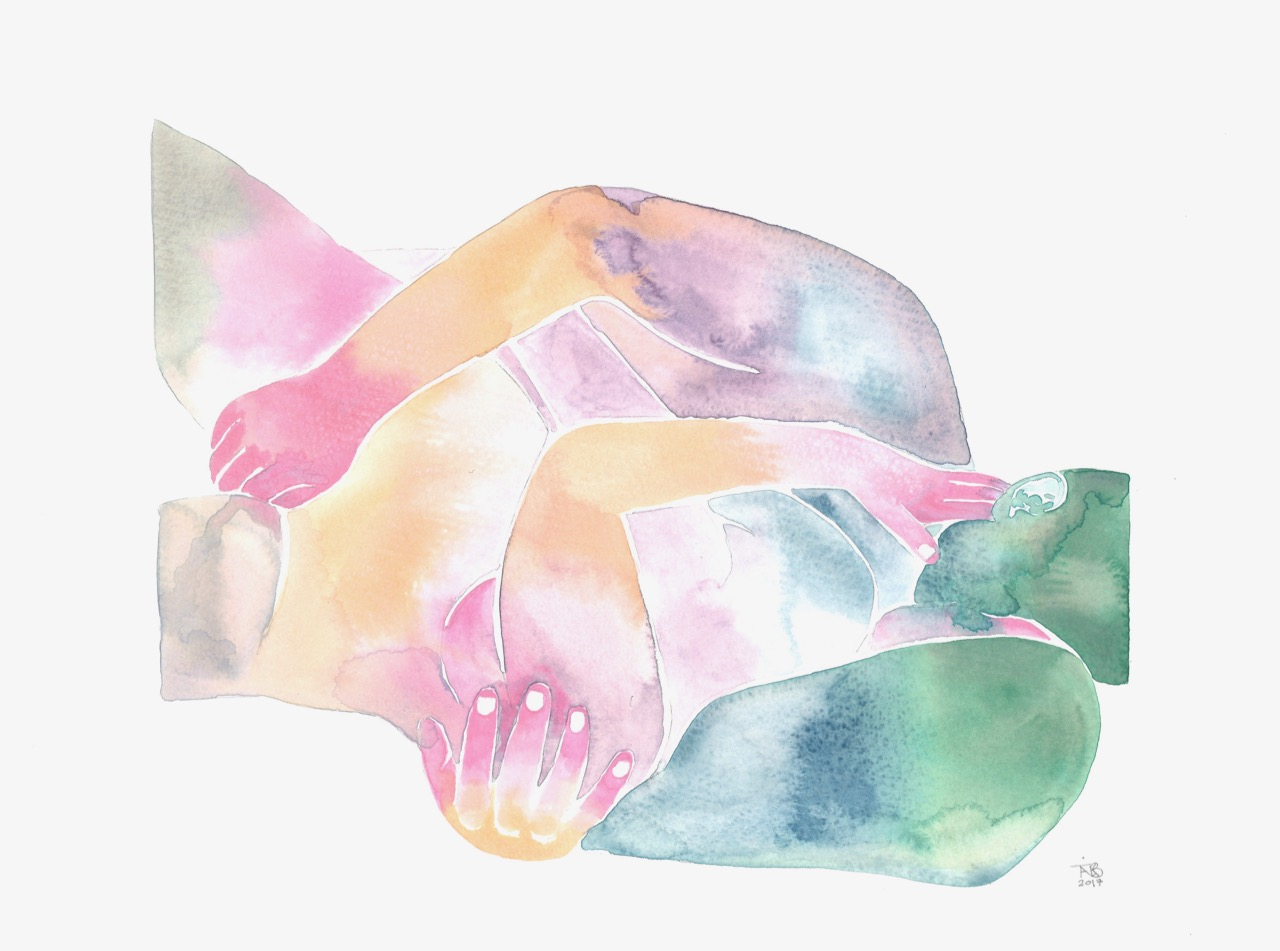Make Love – Watercolor Series nr. 69 Original