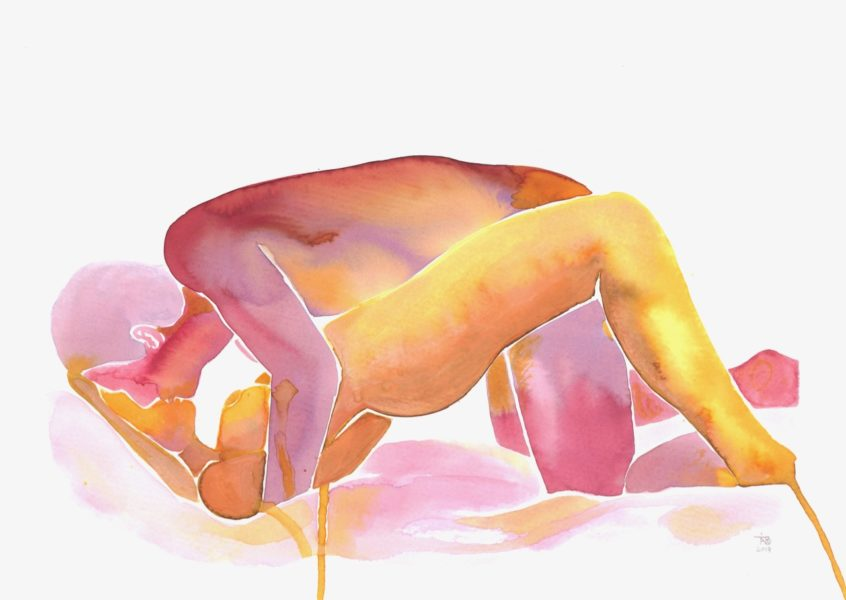 Make Love – Watercolor Series nr. 82