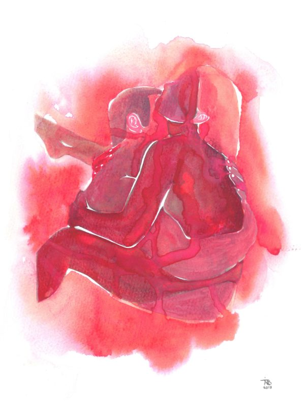 Make Love Watercolor nr 97