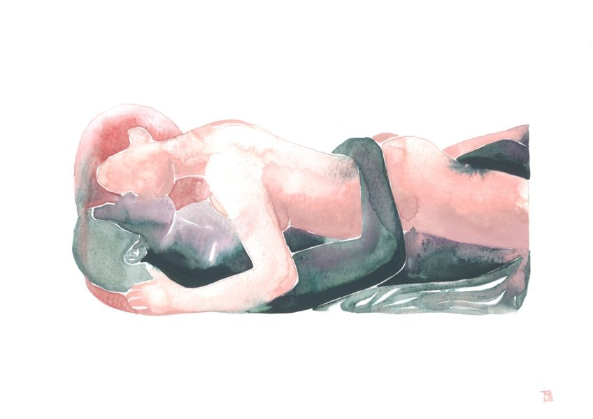 Make Love Watercolor nr. 118