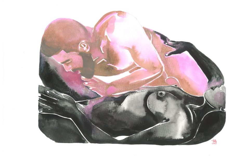 Make Love Watercolor nr. 121