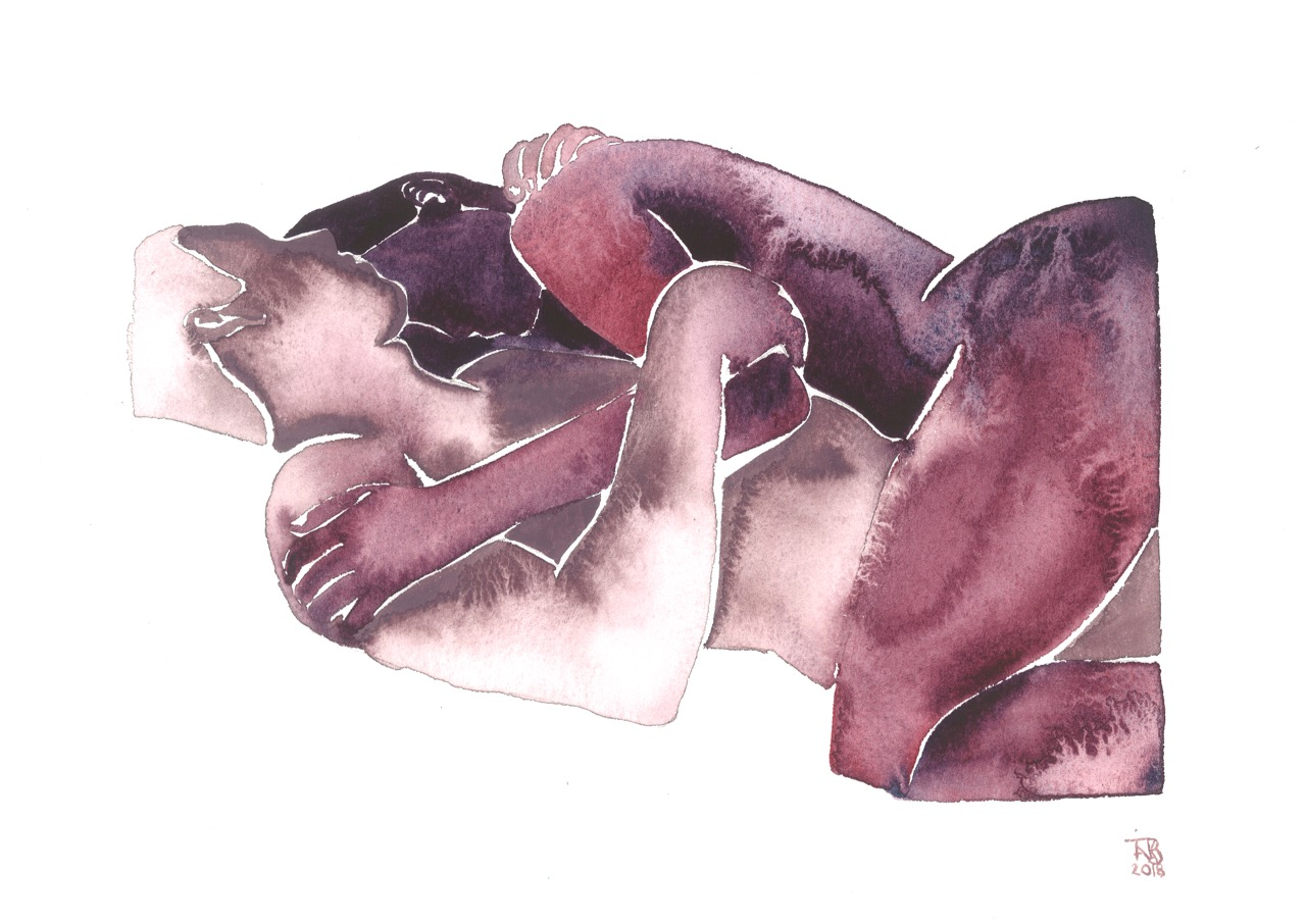 Make Love Watercolor nr. 168