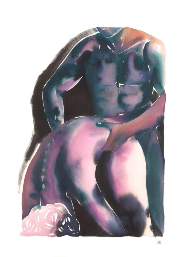 Make Love Watercolor nr. 180