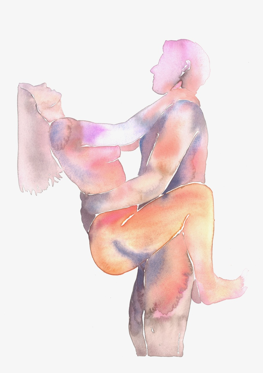 Make Love Watercolor nr. 182