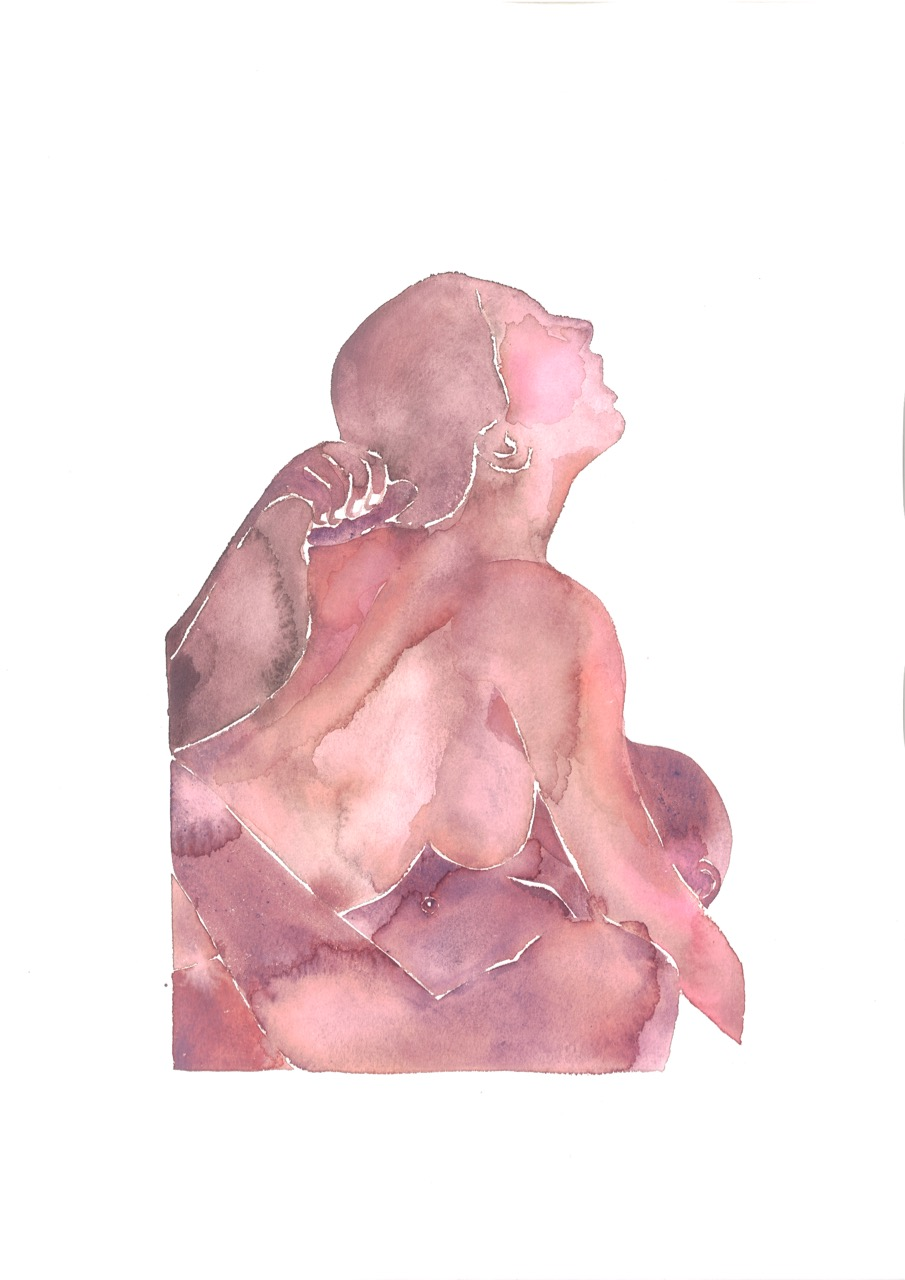 Make Love Watercolor nr. 201