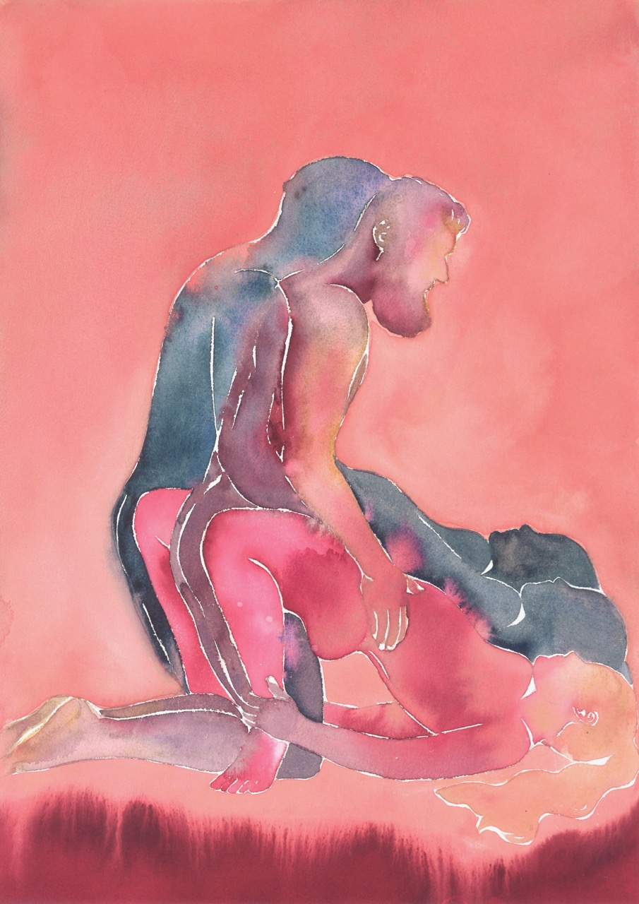 Make Love Watercolor nr. 213